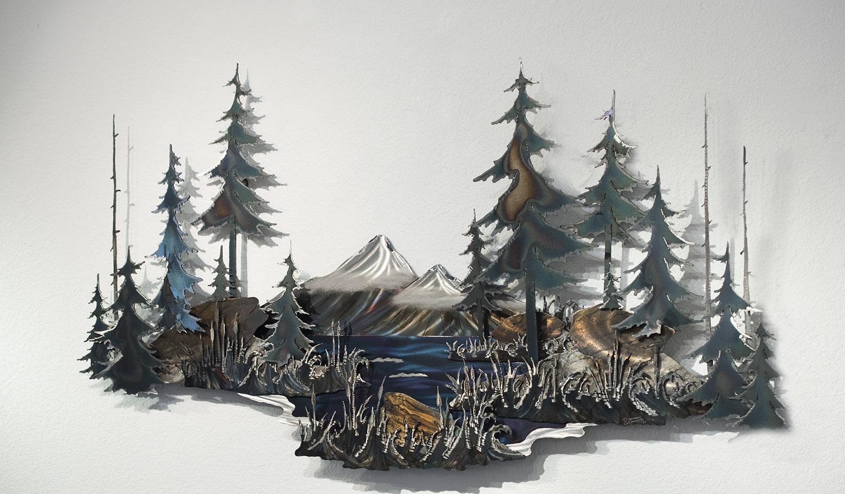 Metal Tree Wall Art Gallery: Art For Wildlife Galleries